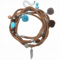 Armband Wrap Brown