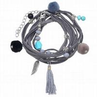 Bracelet Wrap Grey