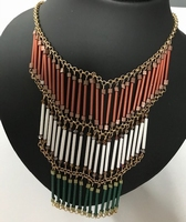 ketting rood/wit/groen