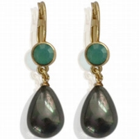 Earrings Pearl Drop