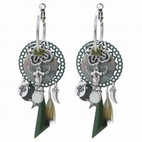 Earrings Buffalo Creoles