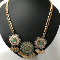 Ketting Gold/Green