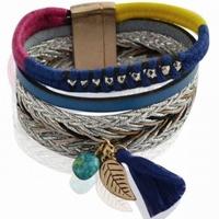 Armband blauw